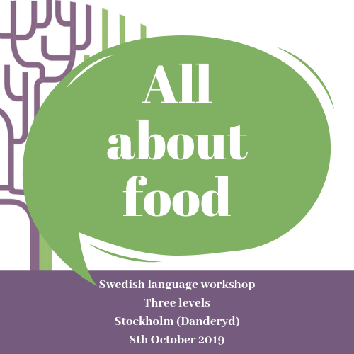All about food - Swedish language workshops - New in Sweden
