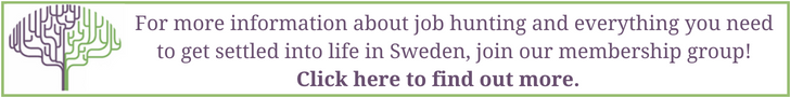 Job hunting in Sweden - New in Sweden
