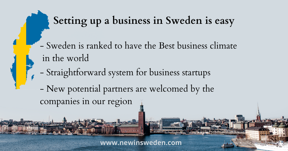 Running a business in Sweden - New in Sweden