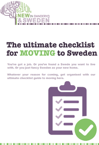 The ultimate checklist for MOVING to Sweden
