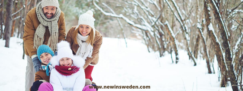 Choose the right clothing for the winter in Sweden - New in Sweden