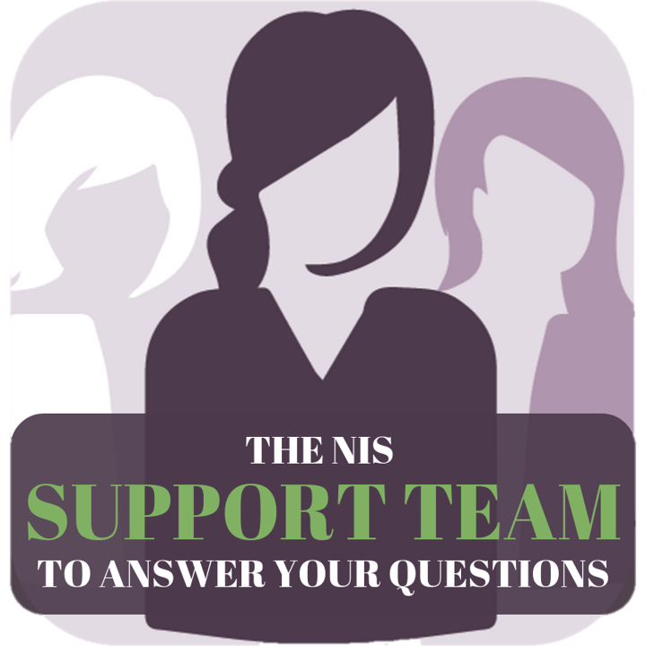 THE NIS SUPPORT TEAM TO ANSWER YOUR QUESTIONS - New in Sweden